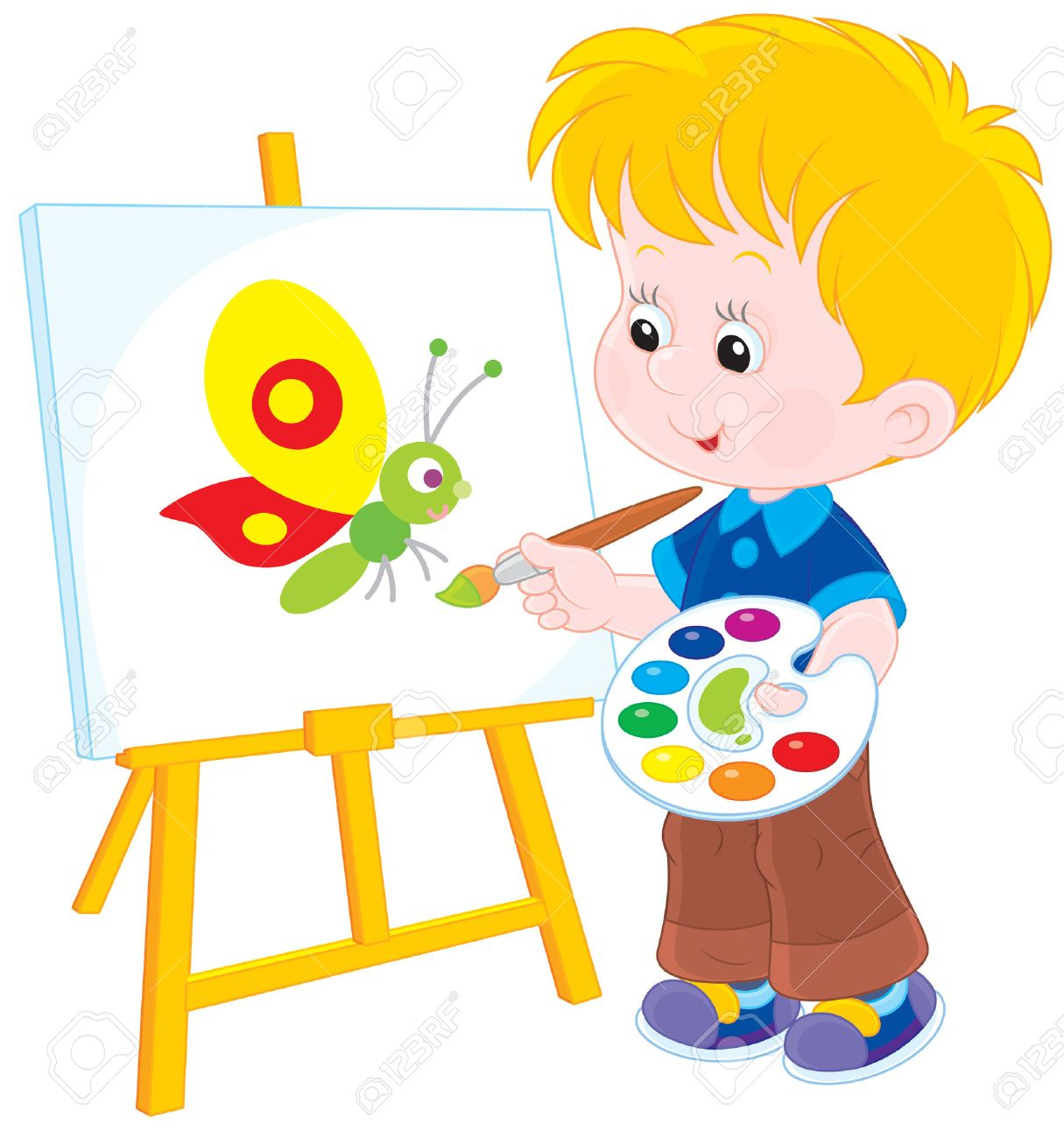 1215x1300 Huge Collection Of 'boy Drawing A Picture' Download More Than