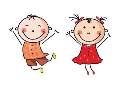 400x290 little boy and girl clipart clipart little girl and boy