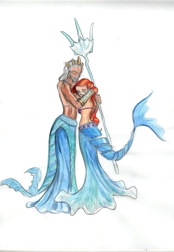 600x866 the little mermaid drawings bid little mermaid drawing step
