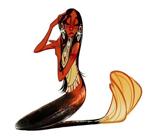 500x436 Tumblr Artist Sully's International Mermaids The Mary Sue