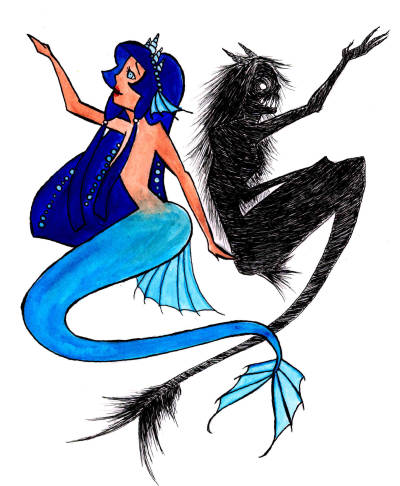 400x486 Dark Mermaid Tumblr