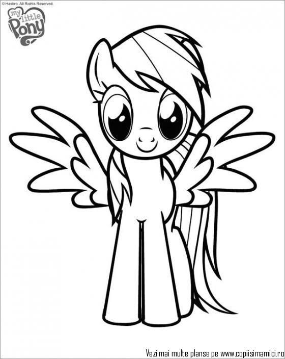 560x704 Coloring Exquisite How To Draw Rainbows My Little Pony Coloring