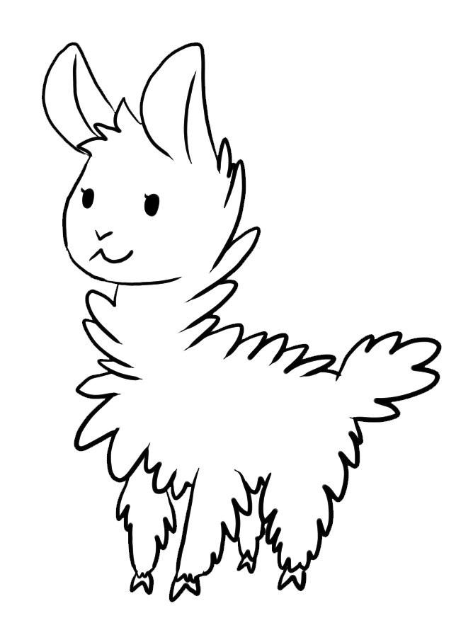 668x880 llama coloring pages me llamas colouring pages llama llama
