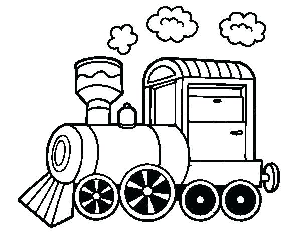 600x470 steam engine coloring pages steam engine drawing at of steam