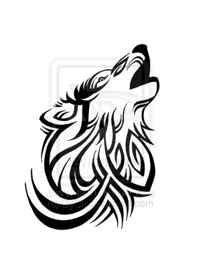 400x517 tribal howl silos tribal wolf tattoo, tattoos, tribal tattoos