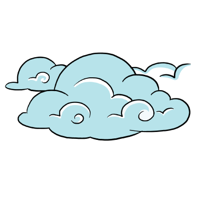 400x400 Collection Of Free Lonely Drawing Cloud Download On Ui Ex