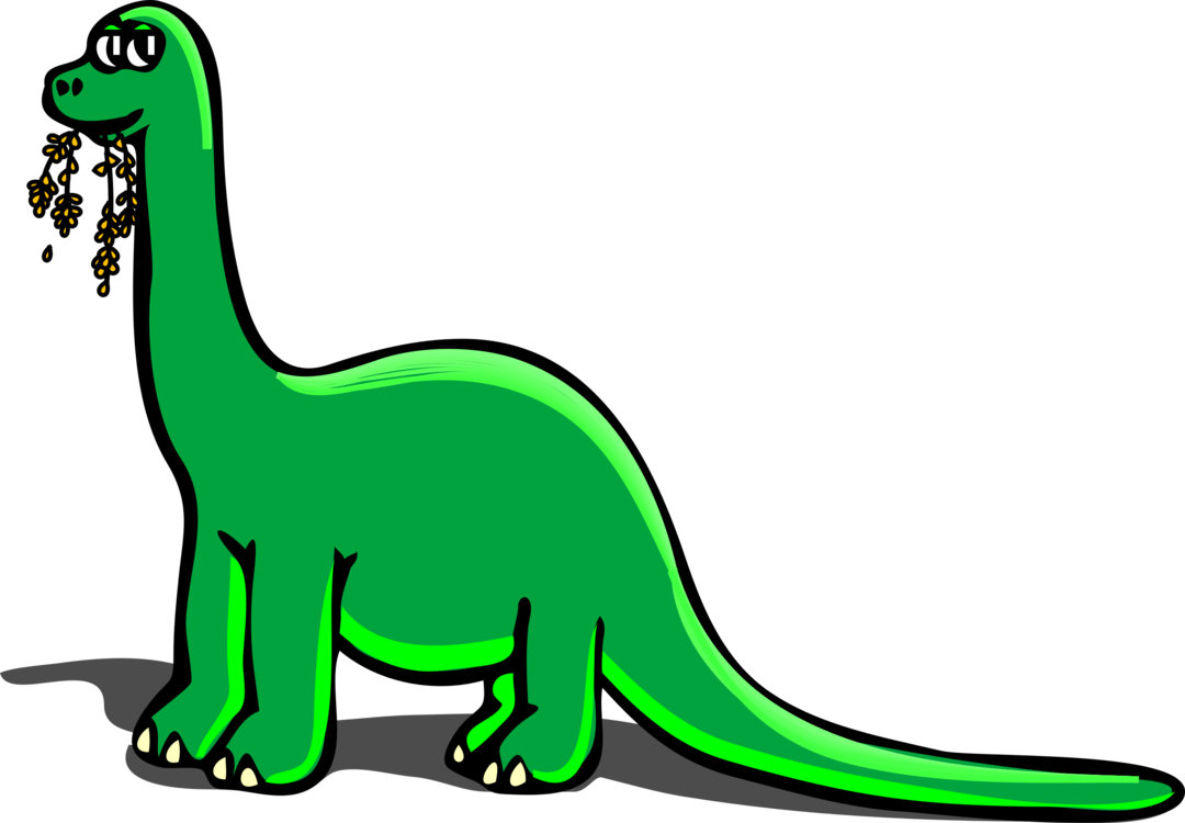 1080x750 The Lonely Dinosaur Drawing Brachiosaurus Stegosaurus Cc0