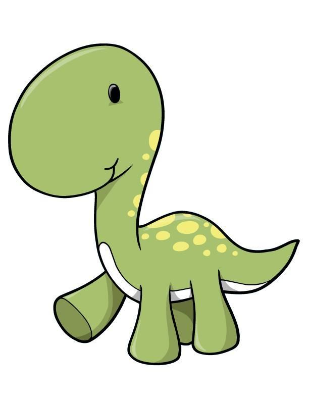 612x792 Green Longneck Baby Dinosaur Wall Decal In Maj Dinosaur