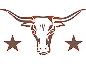 Longhorn Bull Drawing