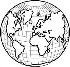 230x219 classroom globe drawing, globe outline, globe