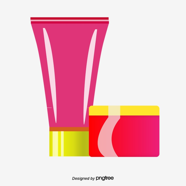 640x640 vector body cream, body vector, body lotion, cartoon hand drawing