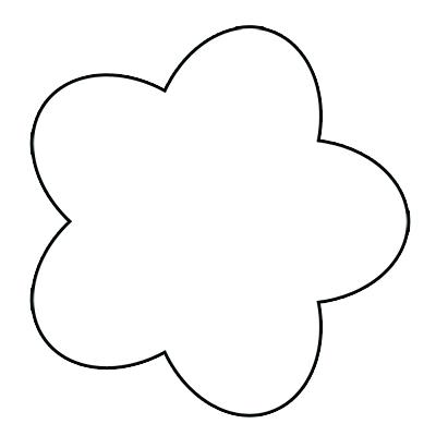 400x400 Flowers For Simple Flower Drawing Outline Lotus Clip Art Library