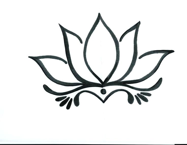 736x571 Drawings Of Lotus Flowers How To Draw A Realistic Lotus Flower