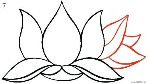 500x283 Flower Drawing Tutorial Easy Flower Drawing Tutorials Pleasant How