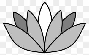 300x185 Lotus Flower Clipart Black White, Transparent Png Clipart Images