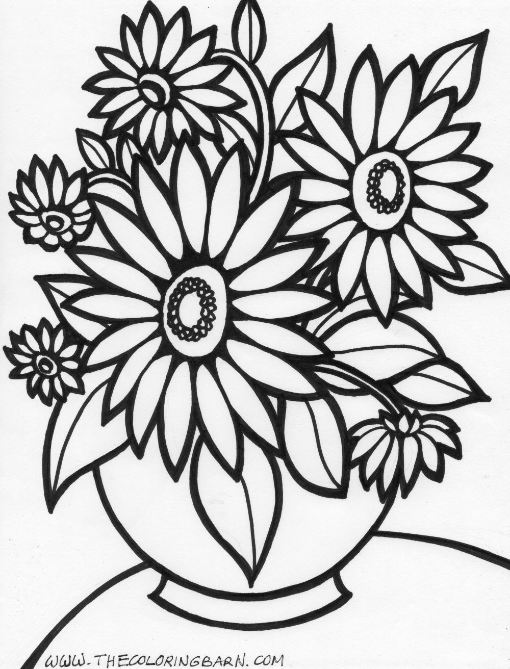 1000x1312 Weird Free Printable Pictures Of Flowers To Color Sturdy Flowering