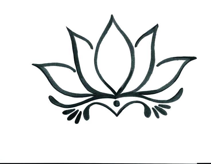 736x571 Lotus Flower Draw