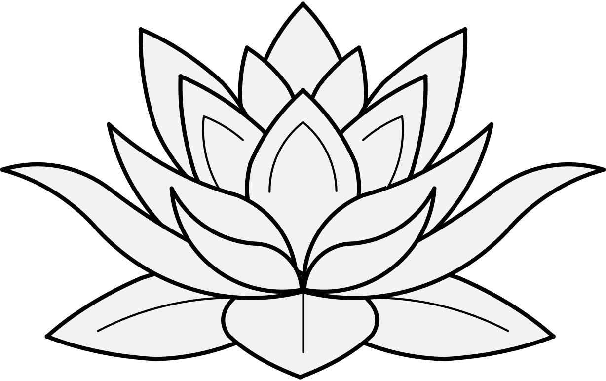 1228x772 Collection Of Free Color Drawing Lotus Flower Download On Ui Ex