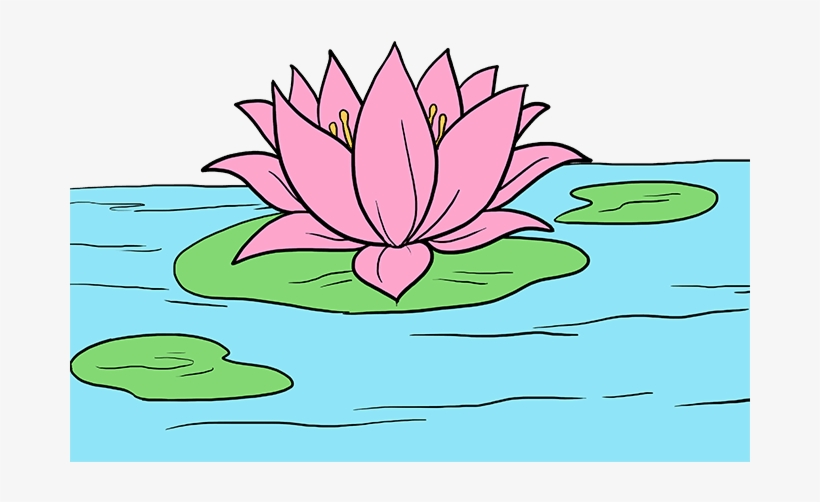 820x502 How To Draw Lotus Flower
