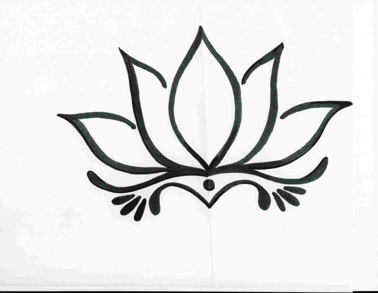 Lotus Flower Tattoo Drawing Free Download Best Lotus Flower Tattoo
