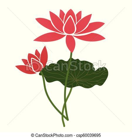 450x470 Nature Flower Pink Lotus, Vector Botanic Garden Floral Leaf Plant
