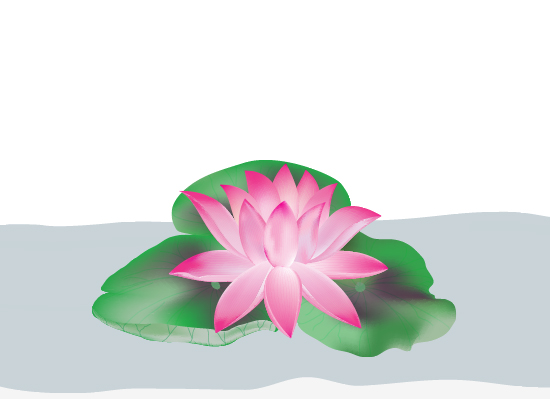 550x399 Create A Lotus Flower With Adobe Illustrator
