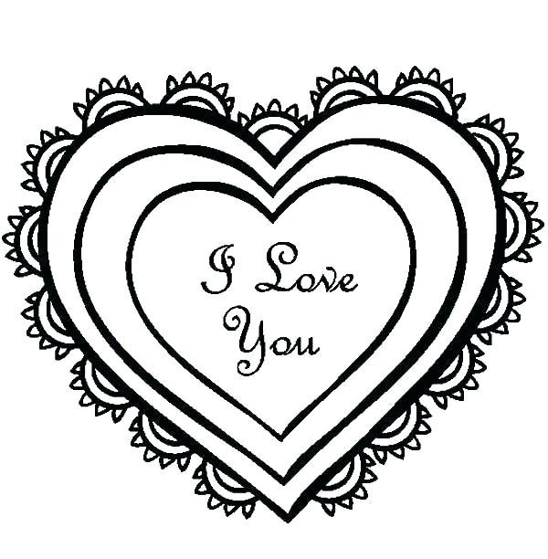 600x612 i love you drawings cute i love you drawings com sad love drawings