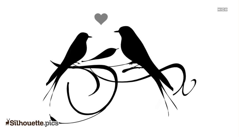 934x534 Love Birds Silhouette Icon Silhouette Pics