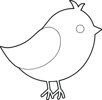 430x420 Simple Bird Drawing A Bird Drawing Simple And Simple Hummingbird