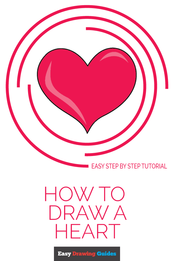 600x900 How To Draw A Heart Step