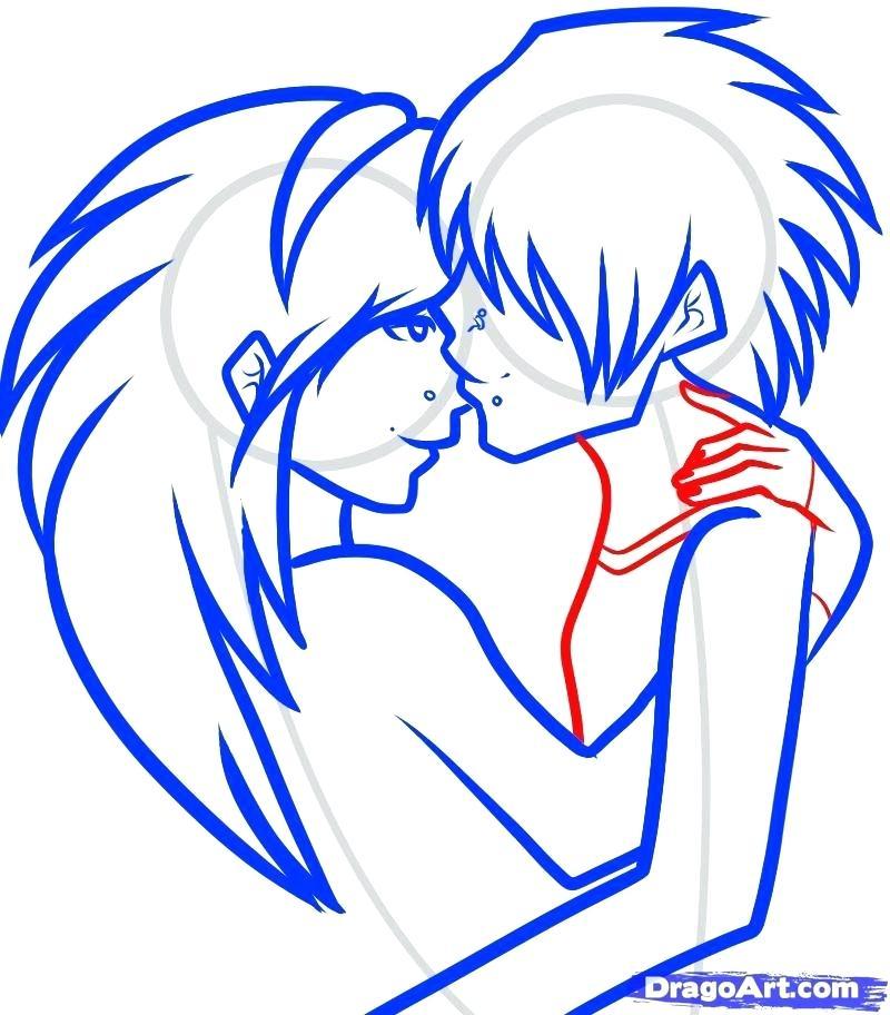 800x912 Love Drawings Step
