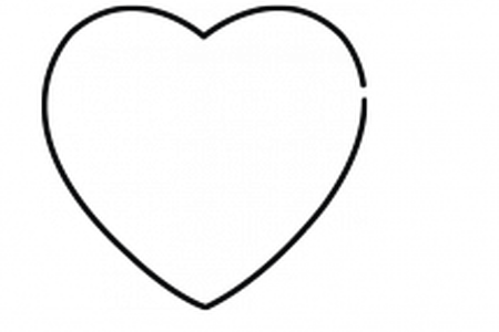 450x300 Collection Of Free Dolphin Drawing Love Heart Download On Ui Ex