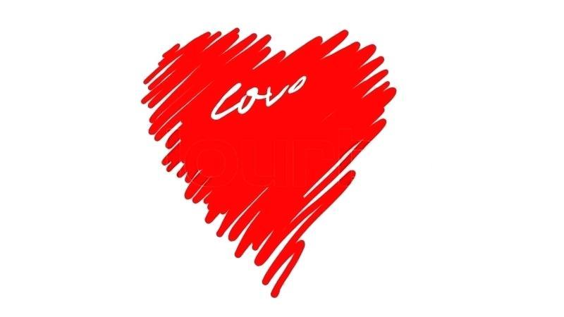 800x450 I Love U Drawing Love Heart Drawings Step