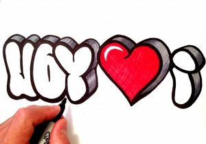 300x210 i love you sketch photo pencil drawings of love i love you