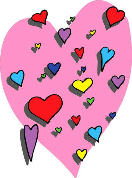 443x594 love heart drawings, cartoon love pictures love images