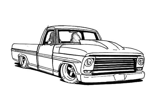 Lowrider Coloring Pages - Bing images | Cars coloring pages ... | 386x600