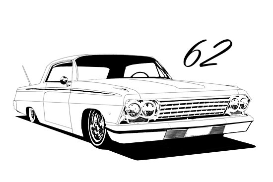 Lowrider Drawing Images | Free download best Lowrider