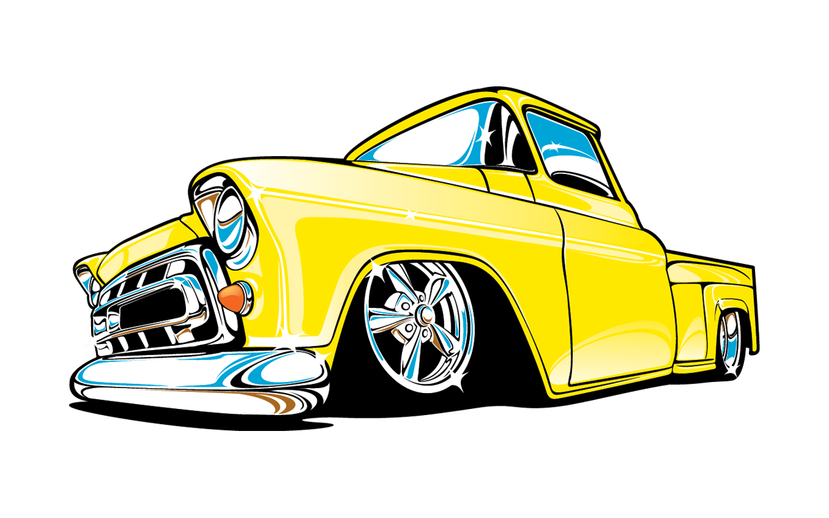 Lowrider Truck Drawings Free Download On Clipartmag