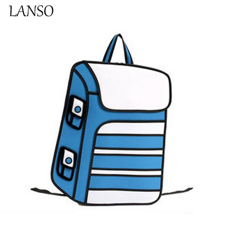 800x800 lanso newest bags novelty back school bags drawing cartoon