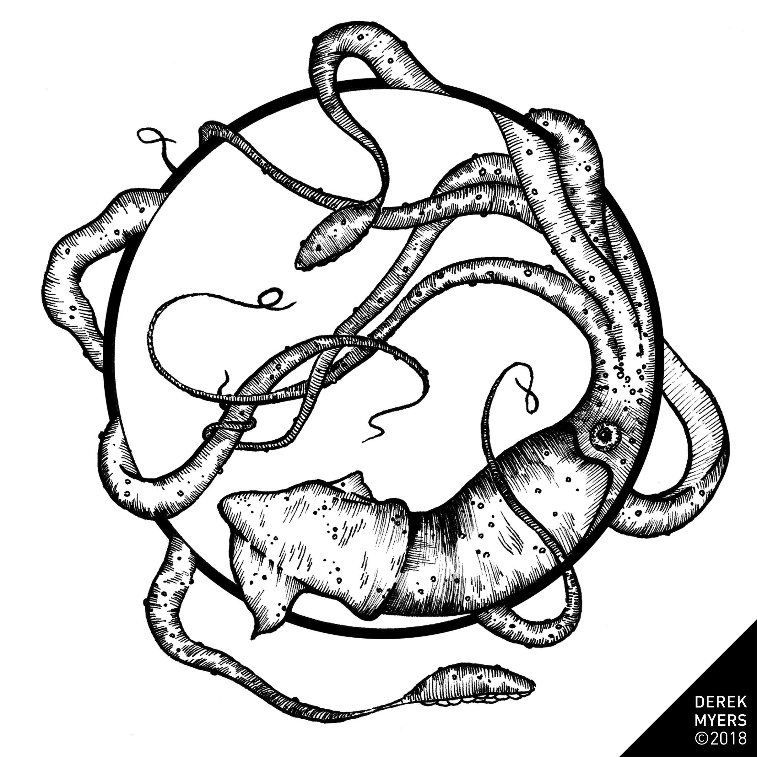 2411x2412 derek myers daily drawings prints originals