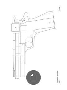 216x288 lilliput rubber band gun craftz colors rubber band gun, guns