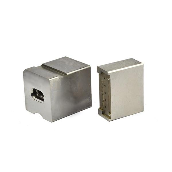 600x600 irregular shape wire edm mold parts according to drawing machining