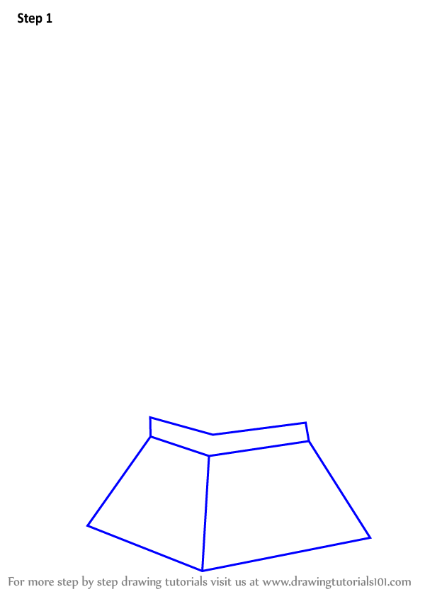 600x846 Learn How To Draw Mini Eiffel Tower