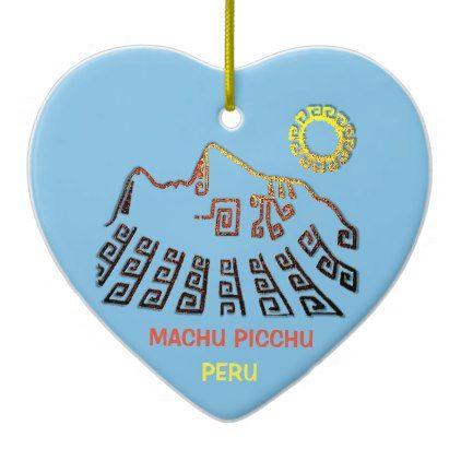 422x422 Machu Picchu Cusco Peru Ceramic Ornament Home Gifts