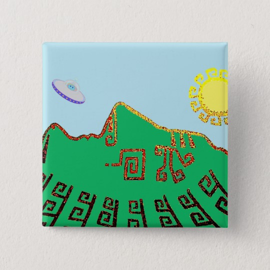 540x540 Machu Picchu Peru Drawing Button