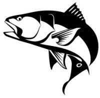 200x196 sport fish clipart saltwater sport fish illustrations clipart
