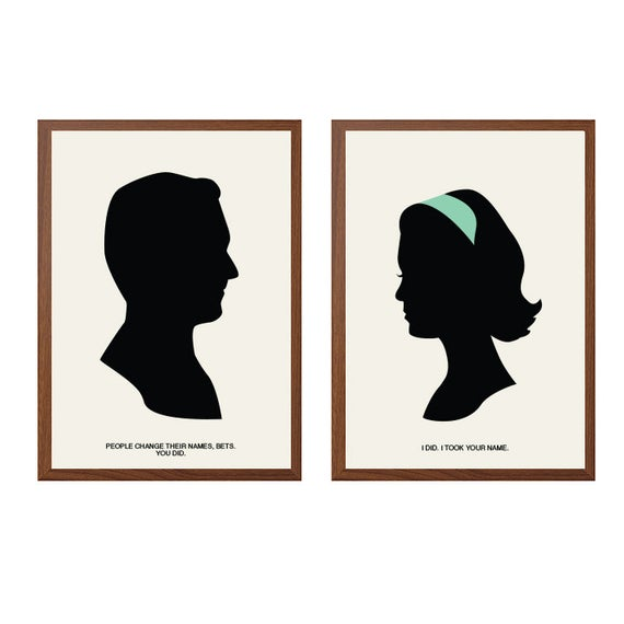 570x570 mad men don betty draper poster modern illustration mad etsy