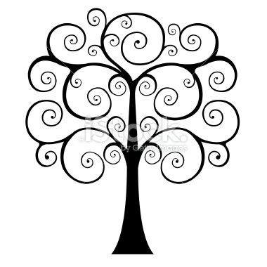 380x380 swirly tree silhouette swirly tree silhouette pictures cute