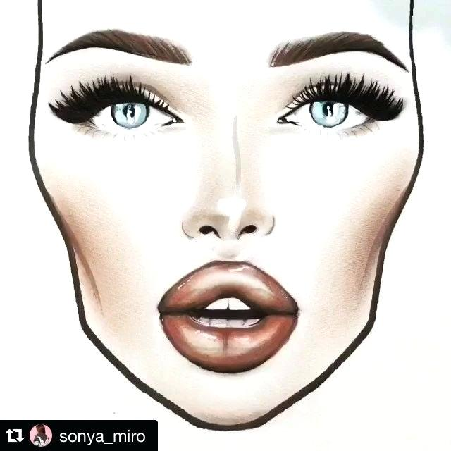 640x640 mac makeup face drawings saubhaya makeup