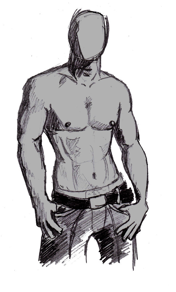 Male Body Drawing